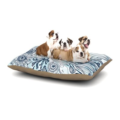 Anchobee Marina Dog Pillow with Fleece Cozy Top Size: Small (40 W x 30 D x 8 H)