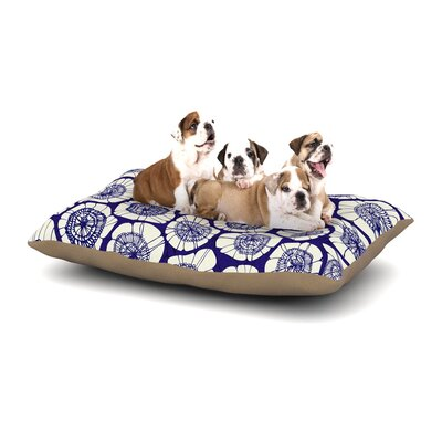 Anchobee Bahar Dog Pillow with Fleece Cozy Top Size: Small (40 W x 30 D x 8 H)