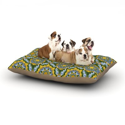 Anneline Sophia Aztec Boho Dog Pillow with Fleece Cozy Top Size: Large (50 W x 40 D x 8 H)