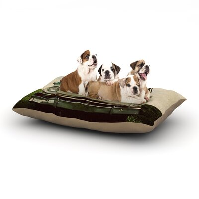 Angie Turner Dodge Car Dog Pillow with Fleece Cozy Top Size: Small (40 W x 30 D x 8 H)