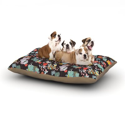 Akwaflorell At Home Dog Pillow with Fleece Cozy Top Size: Small (40 W x 30 D x 8 H)
