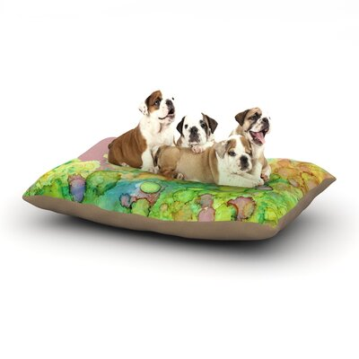 Rosie Brown Sea Life III Dog Pillow with Fleece Cozy Top Size: Small (40 W x 30 D x 8 H)