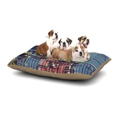 Sylvia Cook New Orleans Balcony Dog Pillow with Fleece Cozy Top