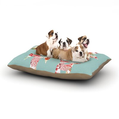 Suzanne Carter Faith Dog Pillow with Fleece Cozy Top Size: Large (50 W x 40 D x 8 H)
