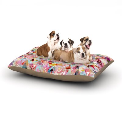 Suzanne Carter Geo Dog Pillow with Fleece Cozy Top Size: Small (40 W x 30 D x 8 H)