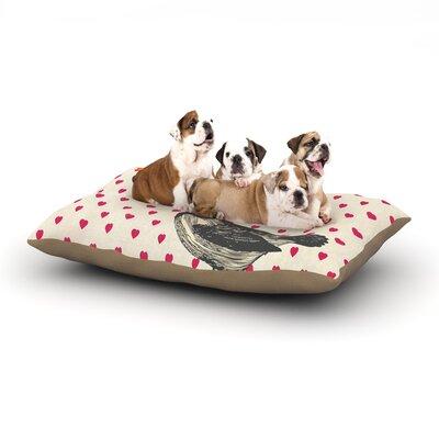 Sreetama Ray Hola Spanish Dog Pillow with Fleece Cozy Top Size: Small (40 W x 30 D x 8 H)