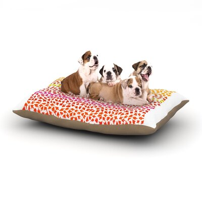 Sreetama Ray Sunset Arrows Abstract Dog Pillow with Fleece Cozy Top Size: Large (50 W x 40 D x 8 H)