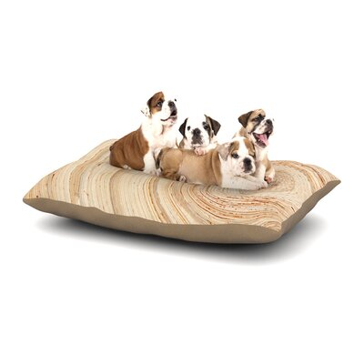Susan Sanders Ring of Life Dog Pillow with Fleece Cozy Top Size: Large (50 W x 40 D x 8 H)
