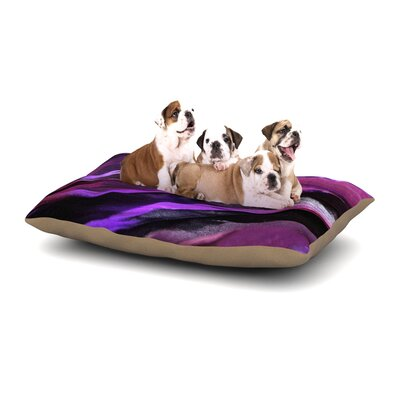 Susan Sanders Birds of a Feather Nature Dog Pillow with Fleece Cozy Top Size: Small (40 W x 30 D x 8 H)