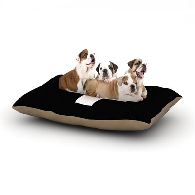 Trebam Plus Simple Dog Pillow with Fleece Cozy Top Size: Small (40 W x 30 D x 8 H)