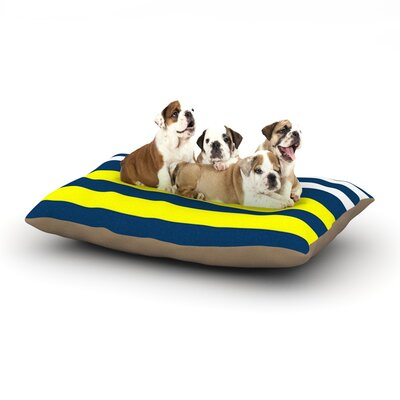 Trebam 'Nauticki' Dog Pillow with Fleece Cozy Top Size: Small (40