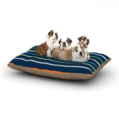 Trebam Tanak Dog Pillow with Fleece Cozy Top Size: Small (40 W x 30 D x 8 H)