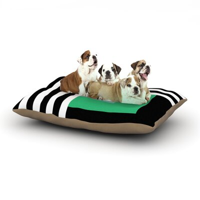 Trebam Kutovi Dog Pillow with Fleece Cozy Top Size: Large (50 W x 40 D x 8 H)