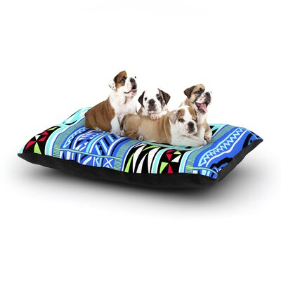 Vikki Salmela American Blanket Dog Pillow with Fleece Cozy Top Size: Large (50 W x 40 D x 8 H)