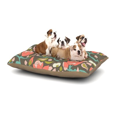 Very Sarie Penelope II Tag Dog Pillow with Fleece Cozy Top Size: Large (50 W x 40 D x 8 H)