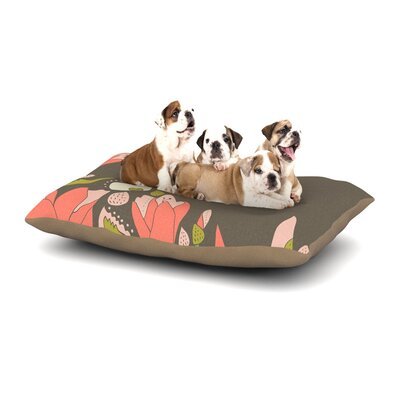 Very Sarie Penelope I Dog Pillow with Fleece Cozy Top Size: Small (40 W x 30 D x 8 H)