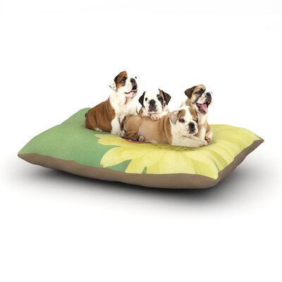 Beth Engel Little Lady Ladybug Dog Pillow with Fleece Cozy Top Size: Small (40 W x 30 D x 8 H)