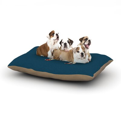 Bri Buckley Chien Dog Pillow with Fleece Cozy Top Size: Large (50 W x 40 D x 8 H)