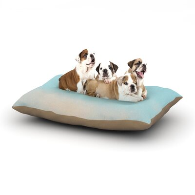 Beth Engel Day Dreaming Sky Clouds Dog Pillow with Fleece Cozy Top Size: Small (40 W x 30 D x 8 H)