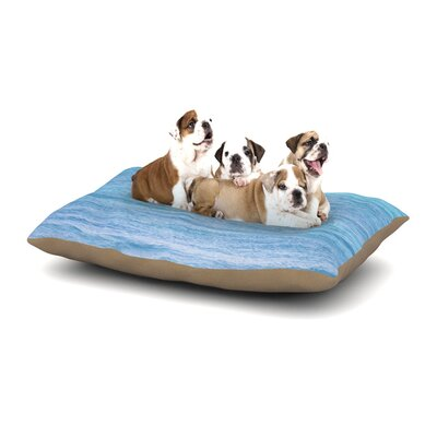Catherine McDonald South Pacific II Ocean Water Dog Pillow with Fleece Cozy Top Size: Large (50 W x 40 D x 8 H)