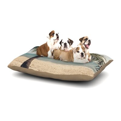 Catherine McDonald Tropic of Capricorn Ocean Photography Dog Pillow with Fleece Cozy Top Size: Large (50 W x 40 D x 8 H)