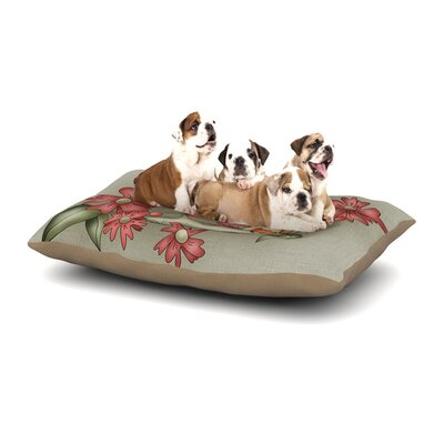 Carina Povarchik Feng Shui Dog Pillow with Fleece Cozy Top Size: Small (40 W x 30 D x 8 H)