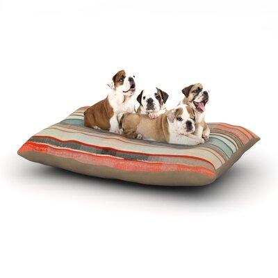 CarolLynn Tice Patton Dog Pillow with Fleece Cozy Top Size: Large (50 W x 40 D x 8 H)