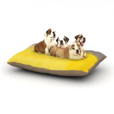 CarolLynn Tice A Simple Abstract Dog Pillow with Fleece Cozy Top Size: Large (50 W x 40 D x 8 H)