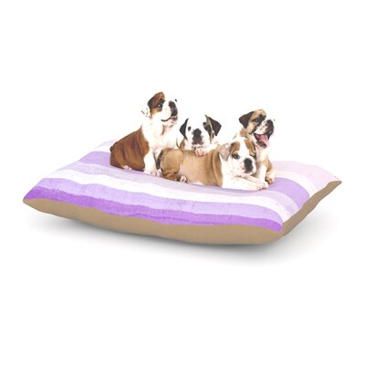 CarolLynn Tice Grape Dog Pillow with Fleece Cozy Top Size: Small (40 W x 30 D x 8 H)
