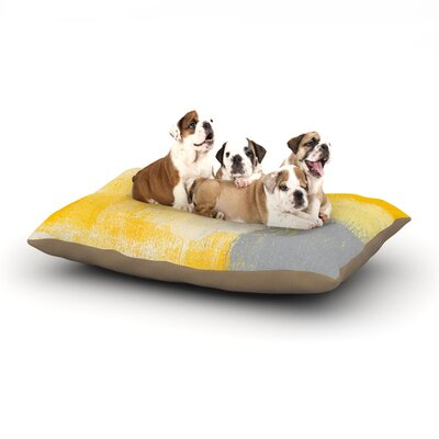 CarolLynn Tice Breakfast Dog Pillow with Fleece Cozy Top Size: Small (40 W x 30 D x 8 H)