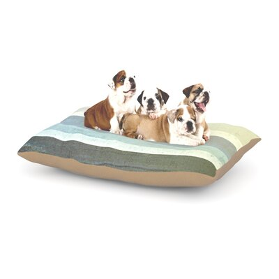 CarolLynn Tice No Limits Dog Pillow with Fleece Cozy Top Size: Small (40 W x 30 D x 8 H)