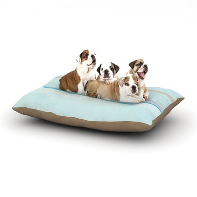 CarolLynn Tice Cost Dog Pillow with Fleece Cozy Top Size: Large (50 W x 40 D x 8 H)