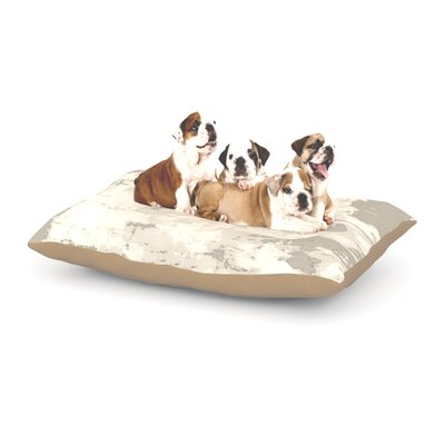 CarolLynn Tice 'Secluded' Dog Pillow with Fleece Cozy Top Size: Small (40