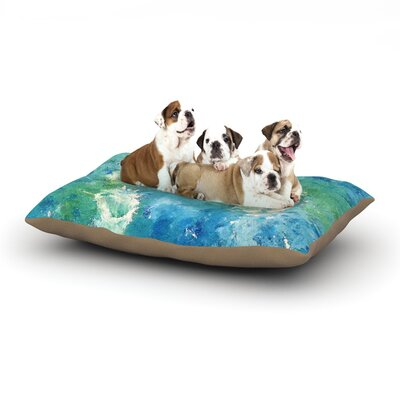 CarolLynn Tice Sporatically Dog Pillow with Fleece Cozy Top Size: Small (40 W x 30 D x 8 H)