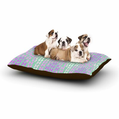 Dan Sekanwagi Butterfly Elements II Dog Pillow with Fleece Cozy Top