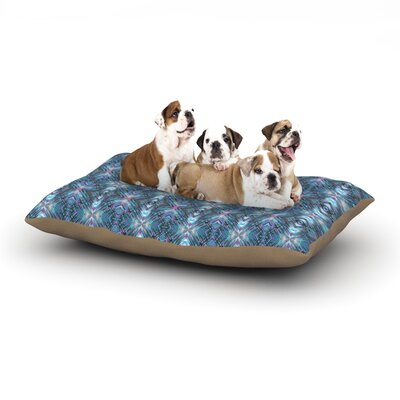 Danii Pollehn Native Geometric Dog Pillow with Fleece Cozy Top Size: Large (50 W x 40 D x 8 H)