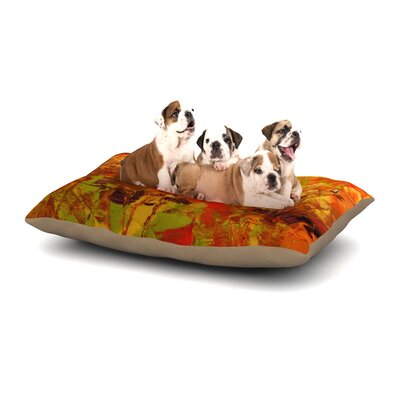 Jeff Ferst Autumn Dog Pillow with Fleece Cozy Top Size: Small (40 W x 30 D x 8 H)
