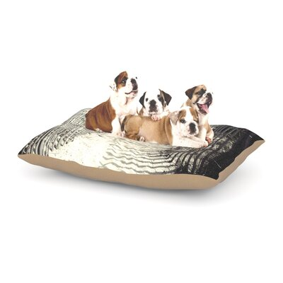Jillian Audrey Welcome to the Beach Dog Pillow with Fleece Cozy Top Size: Large (50 W x 40 D x 8 H)