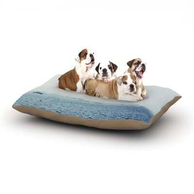 Jillian Audrey Harbor Dog Pillow with Fleece Cozy Top Size: Small (40 W x 30 D x 8 H)