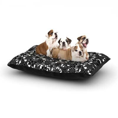 Julia Grifol My Dreams Dog Pillow with Fleece Cozy Top Size: Small (40 W x 30 D x 8 H)