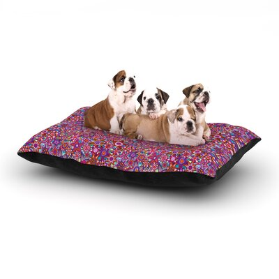 Julia Grifol My Dreams in Color Stars Dog Pillow with Fleece Cozy Top Size: Small (40 W x 30 D x 8 H)
