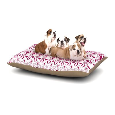 Julia Grifol Warm Deco Dog Pillow with Fleece Cozy Top