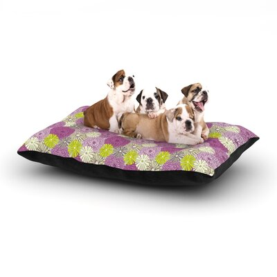 Julie Hamilton Rhapsody Dog Pillow with Fleece Cozy Top Size: Small (40 W x 30 D x 8 H)