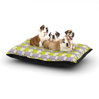 Julie Hamilton Zinnia Dog Pillow with Fleece Cozy Top Size: Small (40 W x 30 D x 8 H)