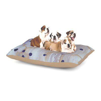 Kira Crees Lush Dog Pillow with Fleece Cozy Top Size: Small (40 W x 30 D x 8 H)