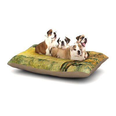 Josh Serafin No Reason to Hide Dog Pillow with Fleece Cozy Top Size: Small (40 W x 30 D x 8 H)