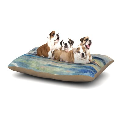 Josh Serafin Crew Rowing Dog Pillow with Fleece Cozy Top Size: Small (40 W x 30 D x 8 H)
