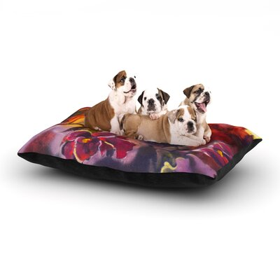 Kristin Humphrey Release Dog Pillow with Fleece Cozy Top Size: Large (50 W x 40 D x 8 H)