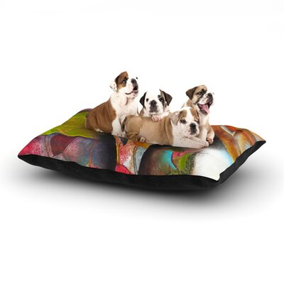 Kristin Humphrey Glimpse Dog Pillow with Fleece Cozy Top Size: Small (40 W x 30 D x 8 H)
