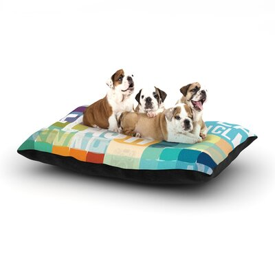 Flash Dog Pillow with Fleece Cozy Top Size: Large (50 W x 40 D x 8 H)